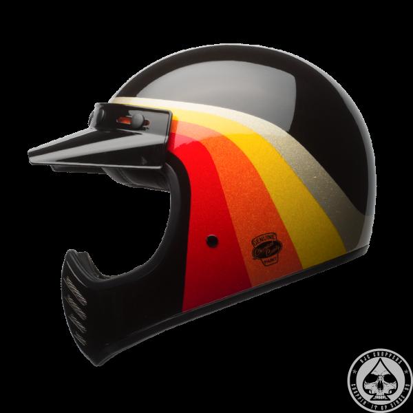 Bell Moto 3 Helmet, Chemical Candy Black/Gold