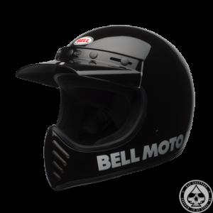 Bell Moto-3, Classic Black