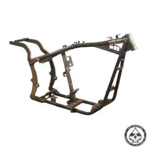 PAUGHCO EASYRIDE FRAME STOCK DIMENSION; NO RAKE/STRETCH; 5-SP TRANSM; REAR BELT Fits: > 86-99 EVO B.T.