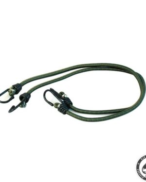 Bungee cords, Green 1 cords, 2 hooks, 76cm