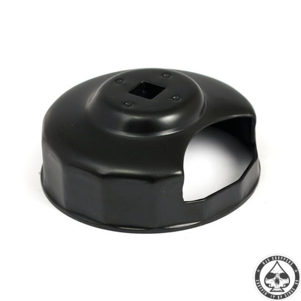 Oil filter wrench, black