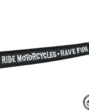Biltwell Patch, Ride motorcycles