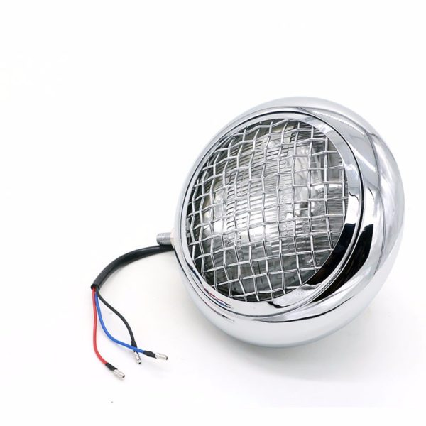 Bates Baja Headlight ( Chrome )
