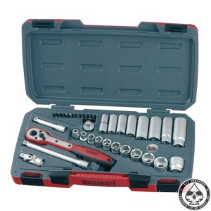 Teng Tools, 3/8 35-pcs Socket wrench set -Inch