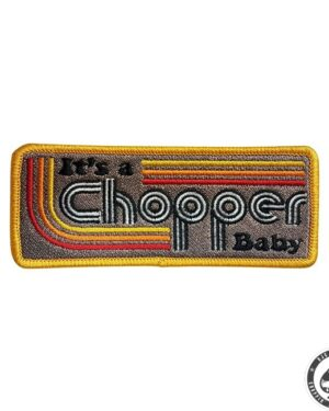 13 and a half magazine, It's a chopper baby patch