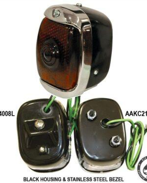 Mooneyes Old School taillight, ( Black)
