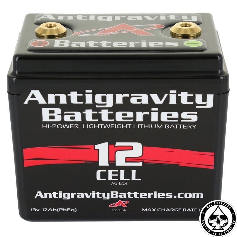 antigravity battery lithium ion 12v 12ah 12 cell rjc. Black Bedroom Furniture Sets. Home Design Ideas