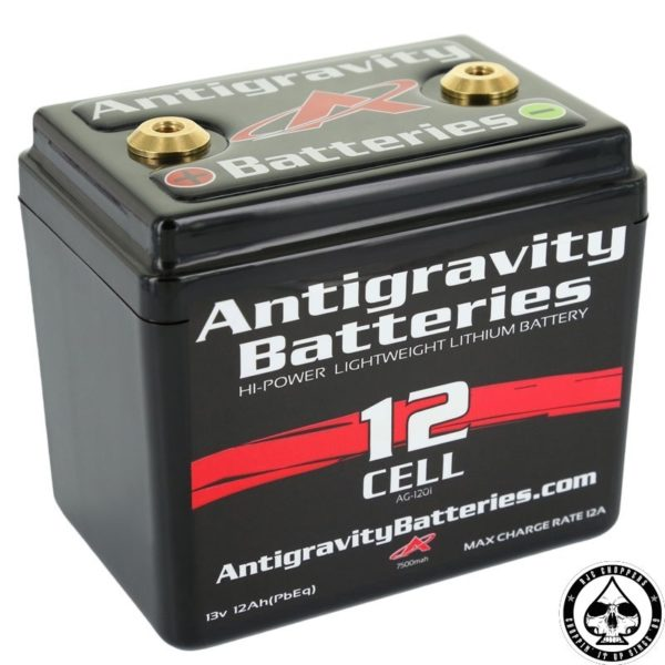 Antigravity Battery, Lithium Ion, 12V, 12Ah, 12 cell
