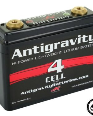 Antigravity Battery, Lithium Ion, 12V, 6Ah, 4 cell