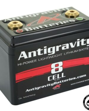 Antigravity Battery, Lithium Ion, 12V, 9Ah, 8 cell