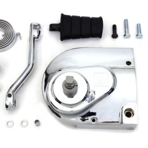 V-Twin Kickstart kit, 91-03 XL, Chrome cover