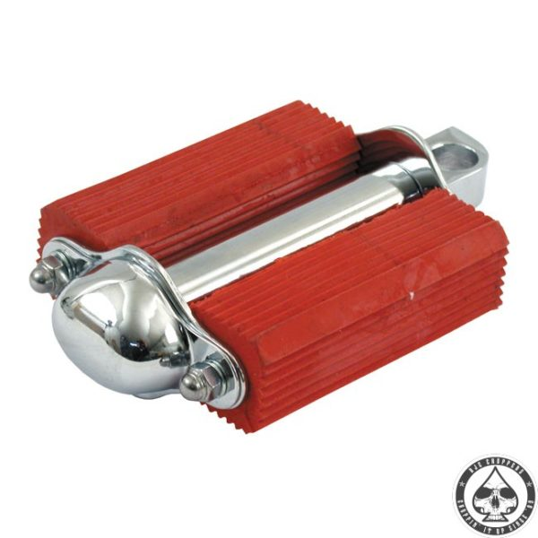 Bicycle style Kickstart pedal, Red