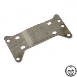 Transmission mount plate, 5-sp, 1/2 Offset, Stainless