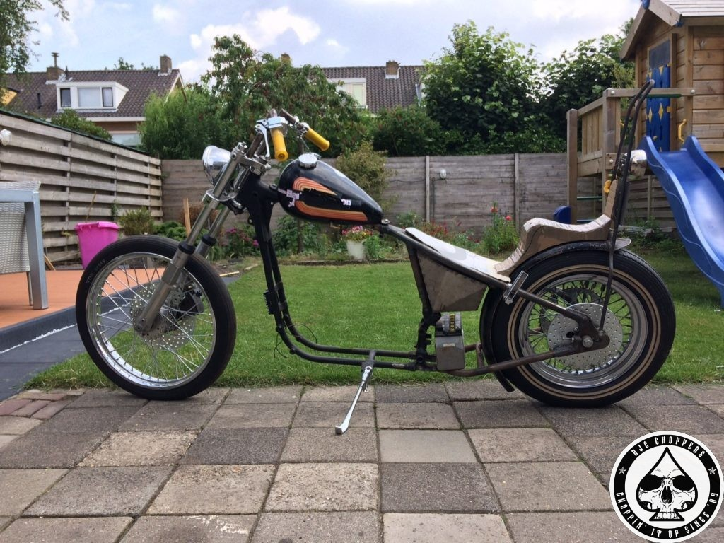 Hardtail Ironhead project
