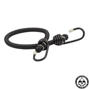 Bungee cords, Black 1 cords, 2 hooks, 45cm