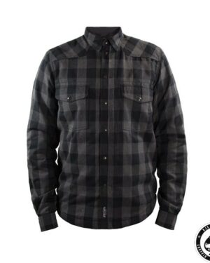 John Doe, Kevlar riding shirt, Gray/Black