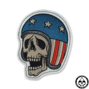 Lethal Threat Patch, Skull Biker
