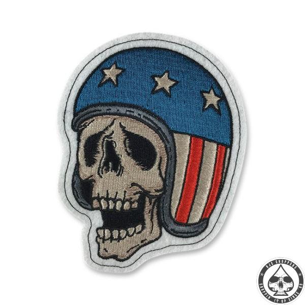 Lethal Threat Patch, Skull Biker