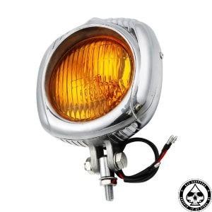 Electroline headlight, amber lens