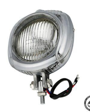 Electroline headlight, clear lens