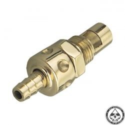 Kustom Tech Fuel Valve for Super B, Brass
