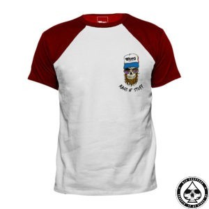 Roeg Kevin T-Shirt White/Red