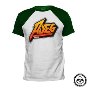 Roeg 7 T-Shirt White/Green