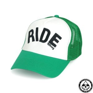 Roeg Green/White Trucker Cap