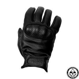 ROEG Butch leather gloves black