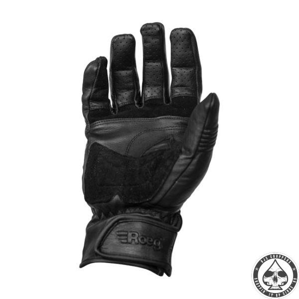 ROEG Hank leather gloves black