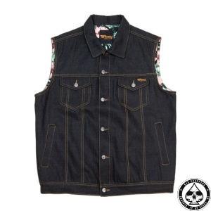 ROEG Kale vest sticky blue
