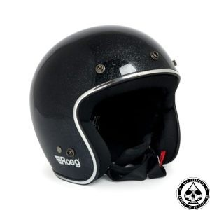 Roeg Jett Helmet - Flake Black