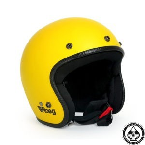 Roeg Jett Helmet - Yellow