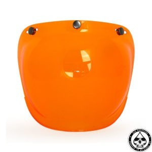 Roeg Bubble visor for Jett helmet, Orange