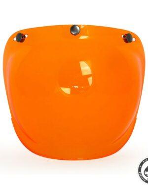 Roeg Bubble visor for Jett helmet, Orange
