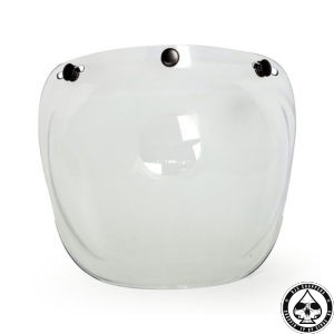 Roeg Bubble visor for Jett helmet, Clear