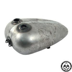 Paughco Mustang gas tank, 4.75 Gl, Dual cap