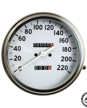 Speedometer, 36-40 FL, White face