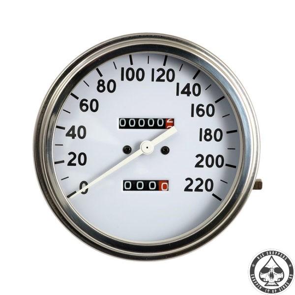 Speedometer, 36-40 FL, White face