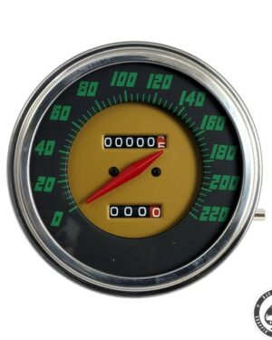 Speedometer, 48-61 FL, Green face