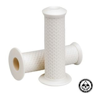 Lowbrow Fish Scale Grips, White