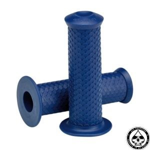 Lowbrow Fish Scale Grips, Blue