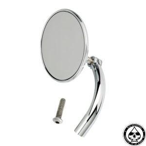 Biltwell Utility Mirror, Round, Chrome