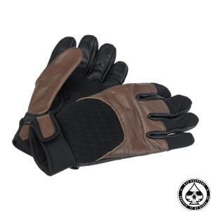 Biltwell Bantam Gloves, Chocolate/Black