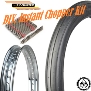 DIY Instant Chopper Kit, Firestone/Chrome