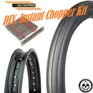 DIY Instant Chopper Kit, Firestone/Black