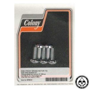"""Colony Brake rotor bolt Kit 5/16""""-18 x 7/8"""