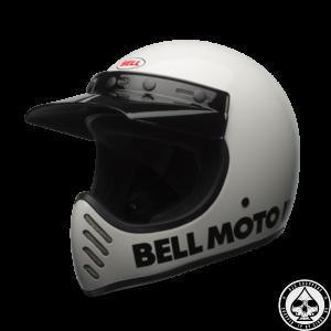 Bell Moto 3 Helmet, White