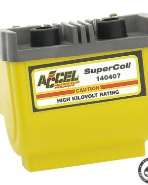Accel HEI Super coil 2.3 Ohm, Yellow ( Electronic ignition )