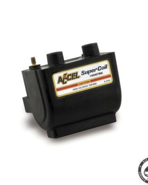 Accel HEI Super coil 2.3 Ohm, Black ( Electronic ignition )